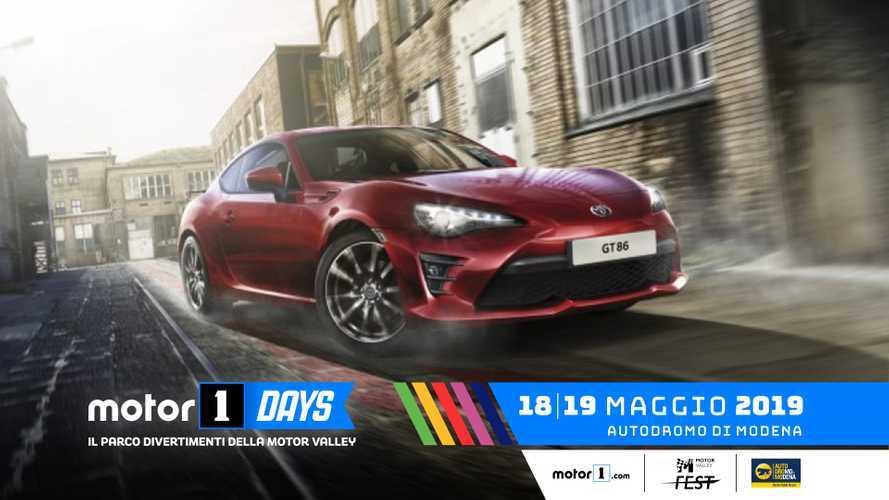 Toyota, l'emozione corre ai Motor1Days 2019