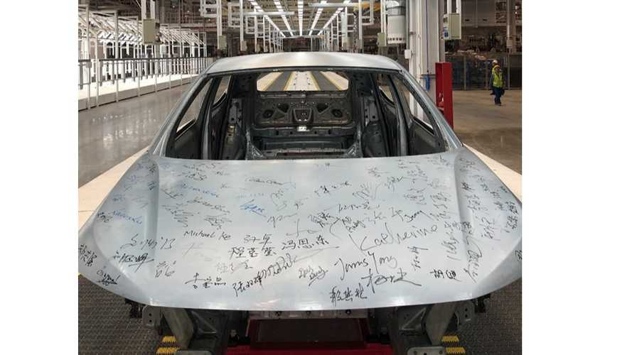 First BYTON M-Byte Body-In-White Rolls Out Of The Body Shop