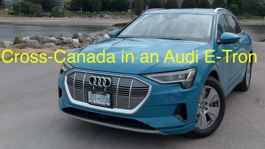 Audi E-Tron Epic Cross-Canada Adventure For A Worthy Cause