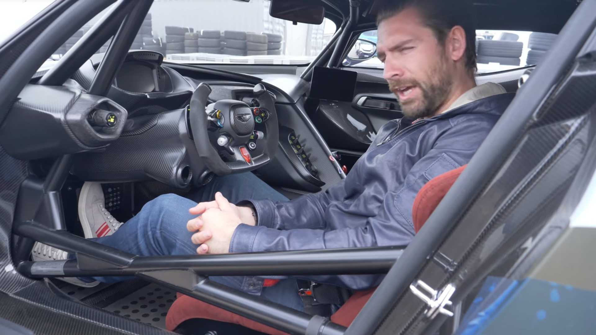 World S Only Road Legal Aston Martin Vulcan Featured On Video