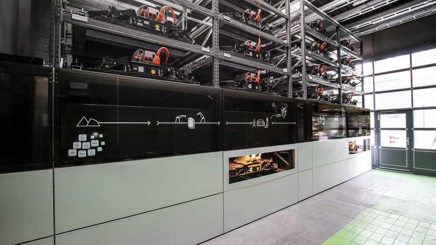 Audi Battery Storage Unit on Berlin EUREF Campus