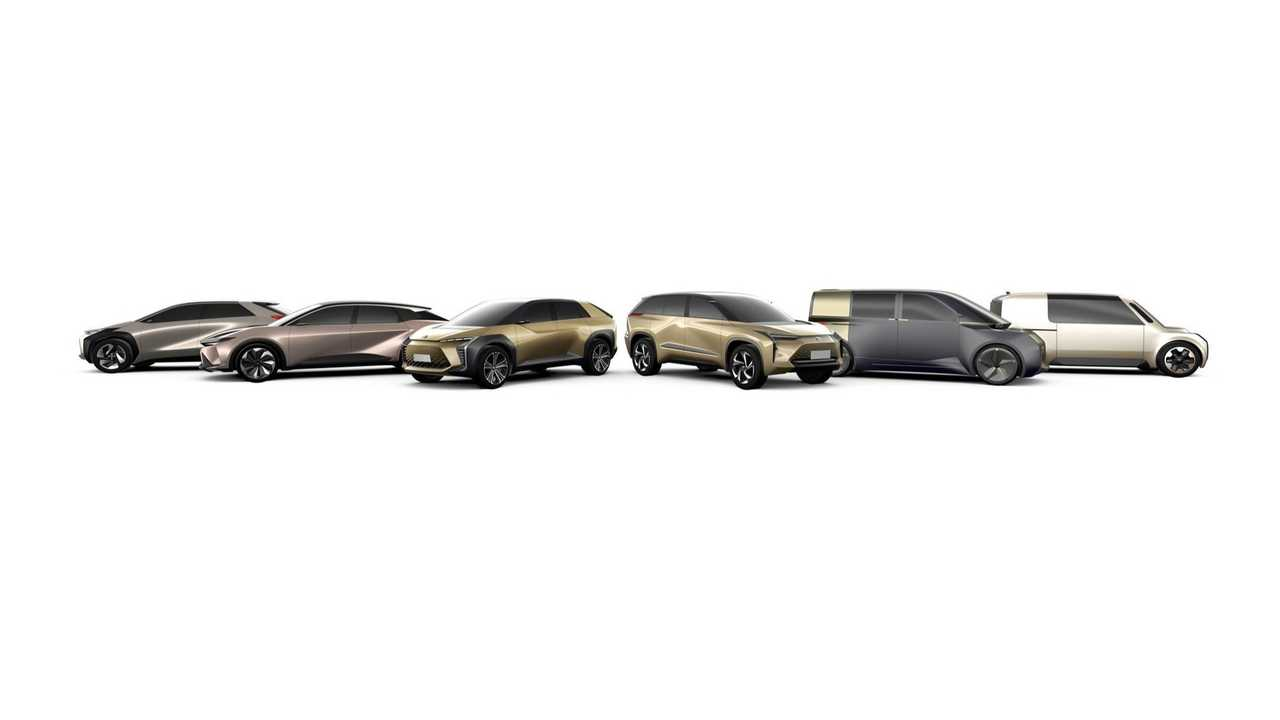 Toyota - six BEVs for global deployment