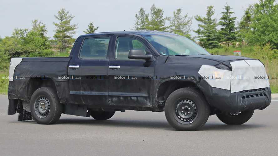 Toyota Tundra Hybrid Possibly Spied Testing For First Time