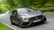 Mercedes-AMG CLA 45 Shooting Brake: Drift Mode, bis zu 421 PS (Update)
