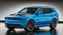 Dodge Challenger SUV Hayali Tasarımı (Render)