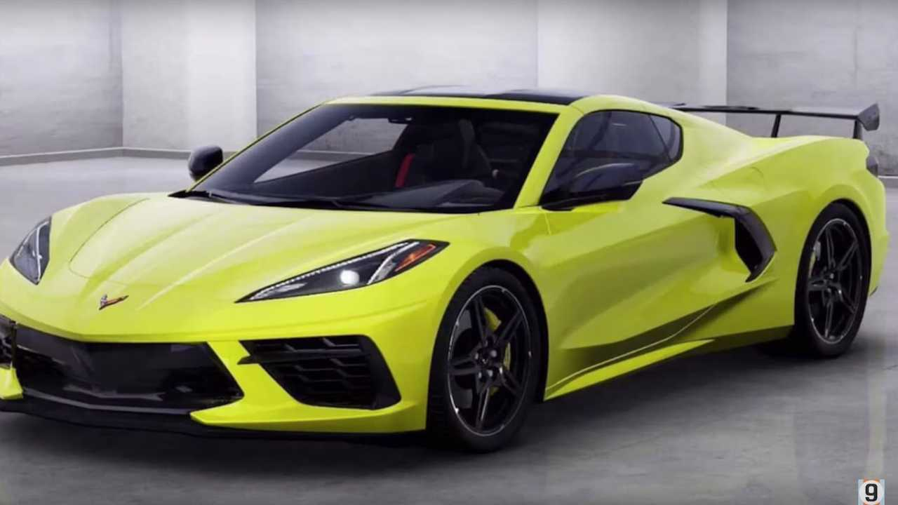 2020 Corvette Color Chart.See All 12 Colors Of 2020 Corvette Stingray Compiled On Video
