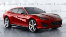 ferrari purosangue suv development challenging