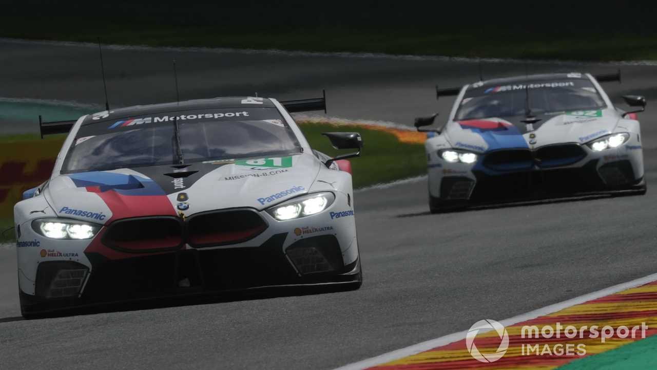 BMW M8 GTE at WEC Spa Francorchamps 2019