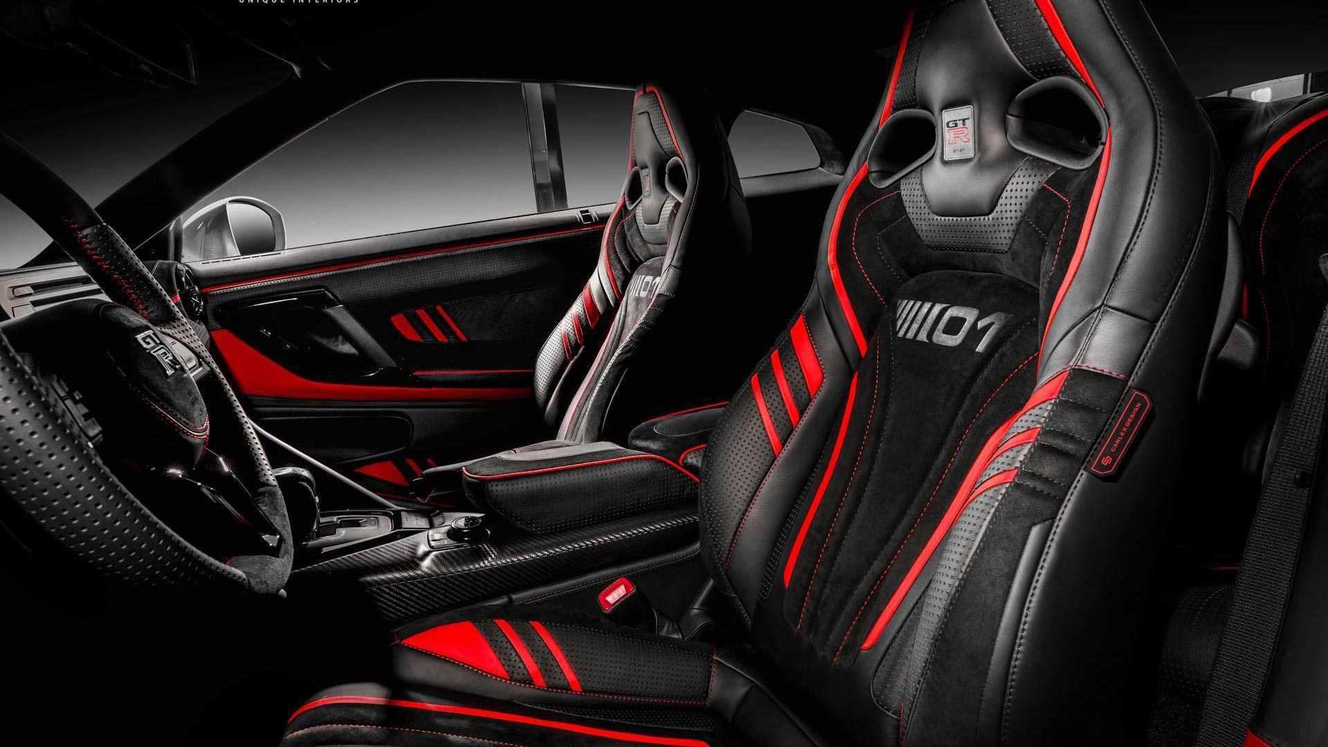 Nissan Gtr Interior >> Nissan Gt R Gets Vibrant Custom Interior From Carlex Design