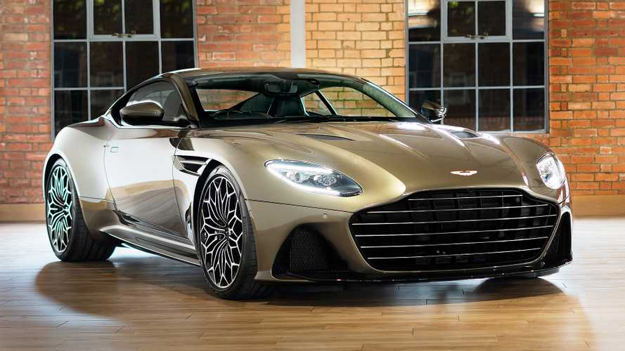Une Aston Martin DBS Superleggera au service secret de Sa Majesté