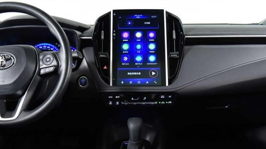 Novo Toyota Corolla estreia multimídia gigante na China