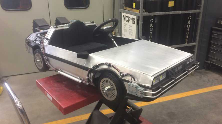 Incredible mini DeLorean built for daughter is a testament of love