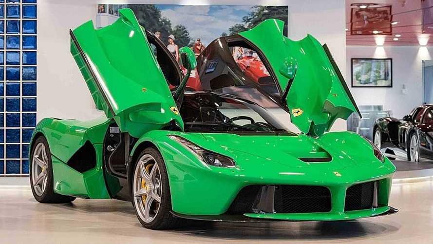 "Ferrari LaFerrari, in vendita la ""Rossa""… verde di Jay Kay"