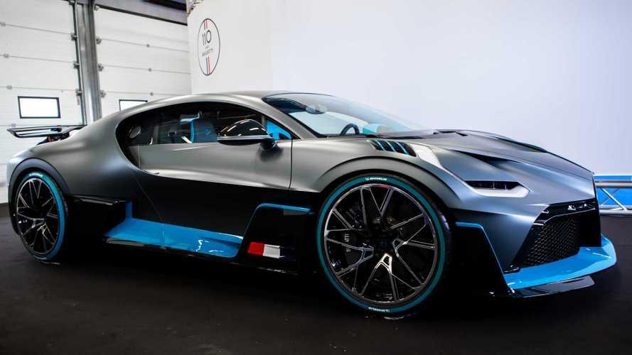 Michelin ile Bugatti Divo'ya doyduk