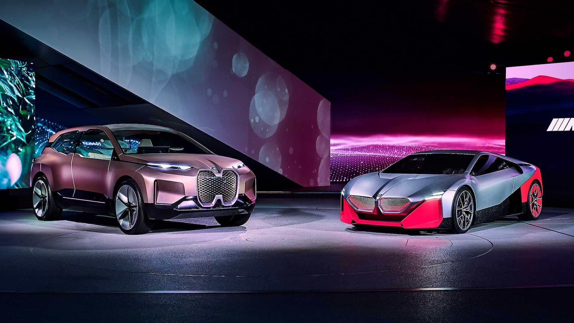 BMW Vision M Next Concept Debuts Stunning Shape, 600 ...
