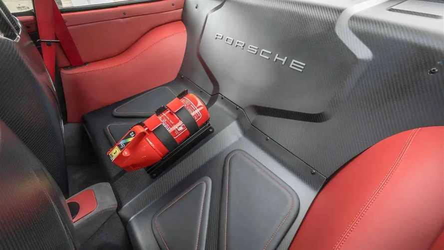 Gunther Werks Modified Porsche 911 993 Generation in Solar Red