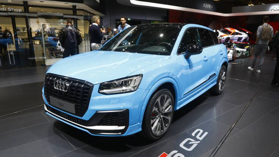 Audi SQ2 hot crossover goes live in Paris with 296 bhp