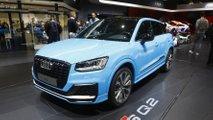 Audi SQ2 auf dem Pariser Autosalon