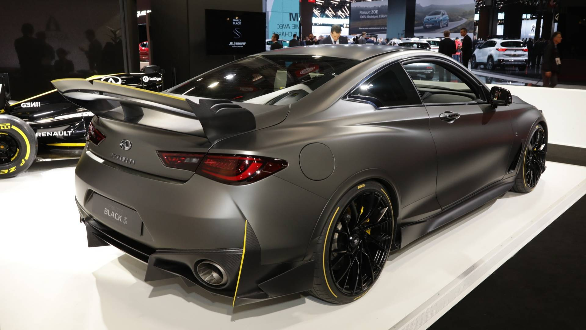 Infiniti Project Black S Prototype Brings F1 Hybrid Tech To