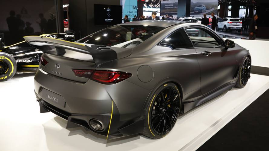 Infiniti Project Black S Prototype Brings F1 Hybrid Tech To Paris