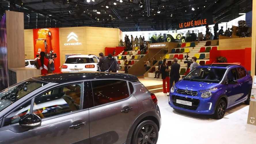Citroen auf dem Pariser Autosalon 2018