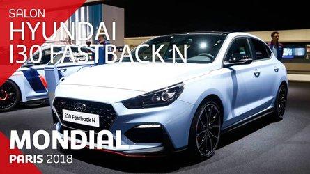 VIDÉO - La Hyundai i30 Fastback N en direct au Mondial 2018