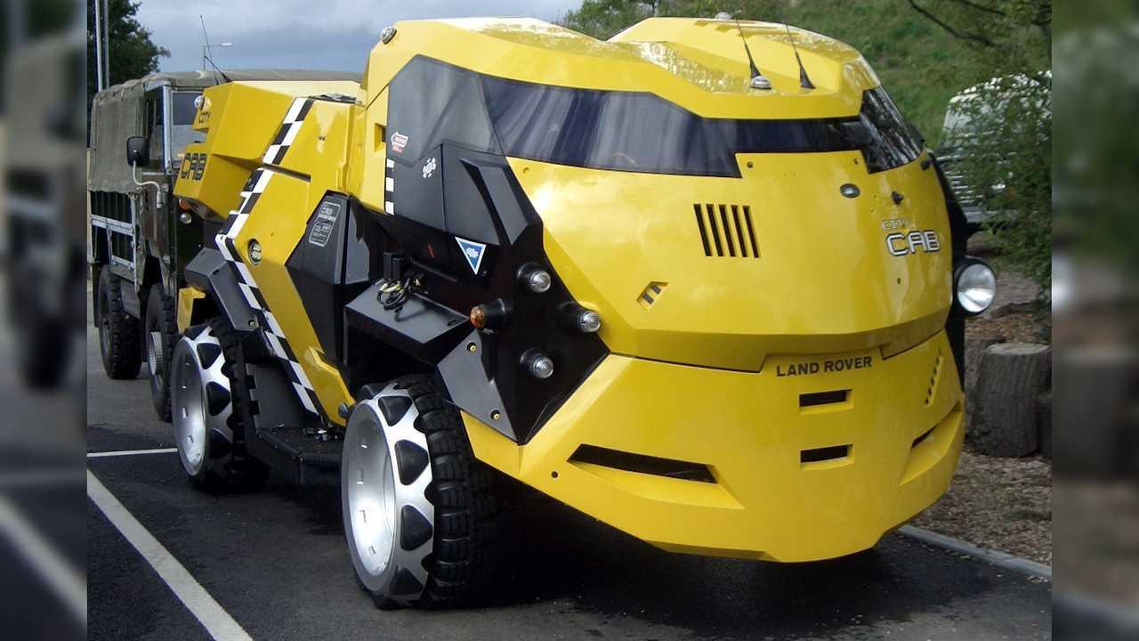 Land Rover CAB Juez Dredd