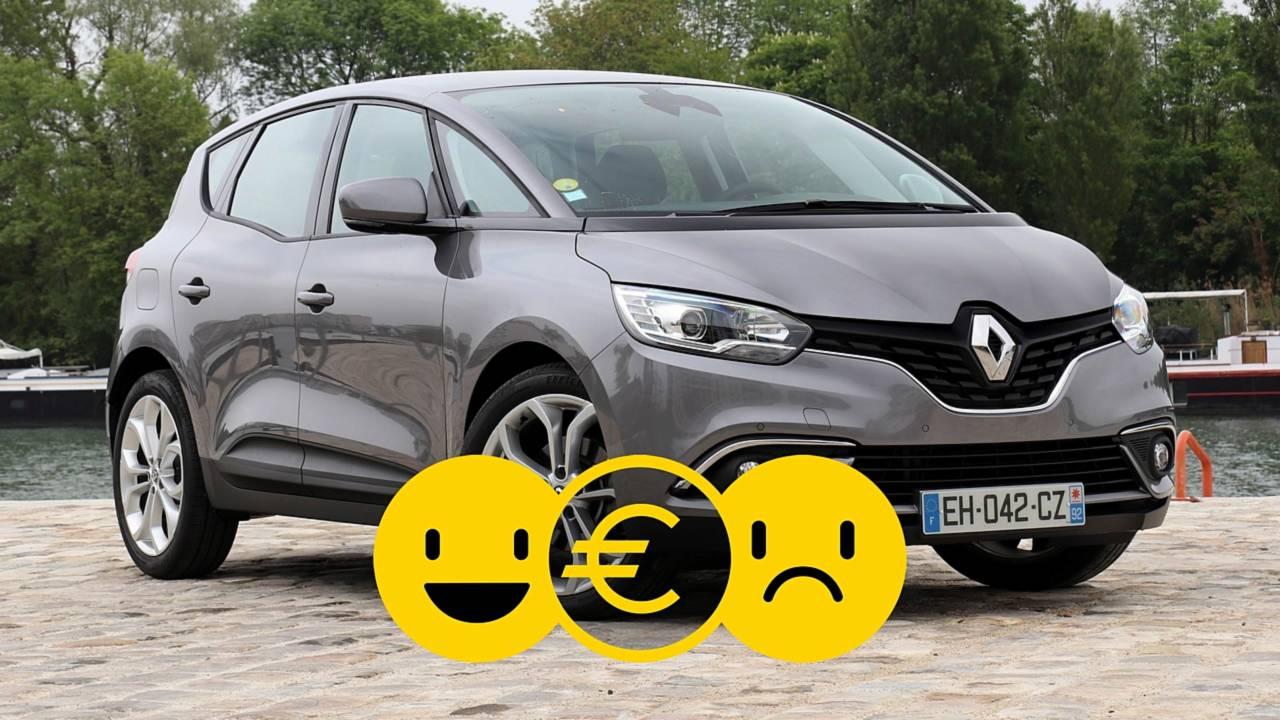 Promozione Renault Scénic, perché conviene e perché no