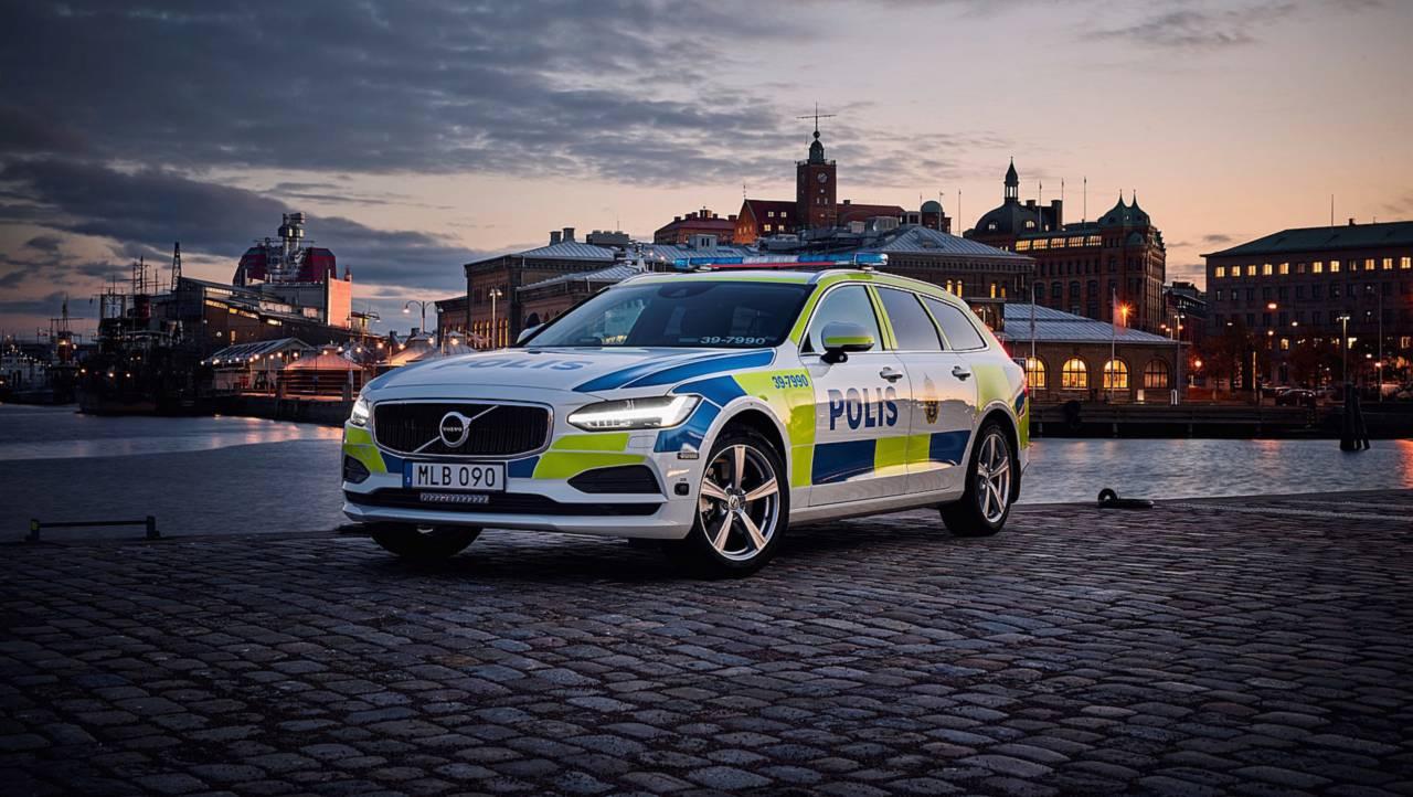 Volvo V90 : police anglaise