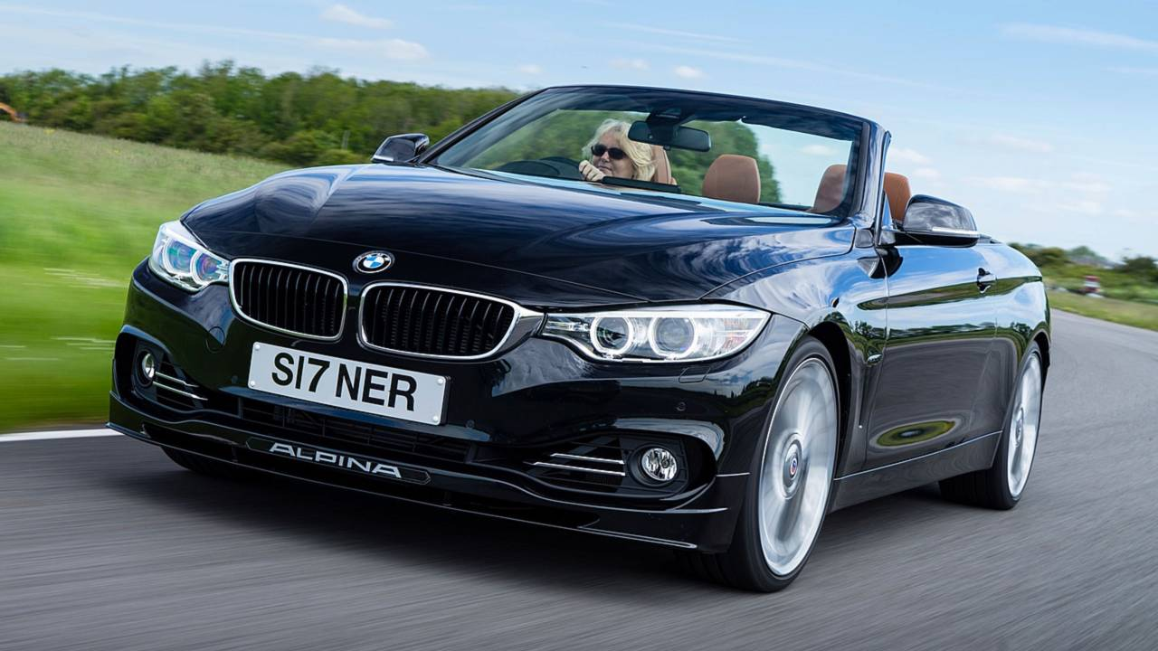 5. 2014- Alpina 4 Series Convertible