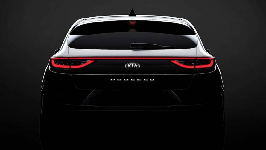 Kia ProCeed Shows Off Stylish Rear In First Teaser Image