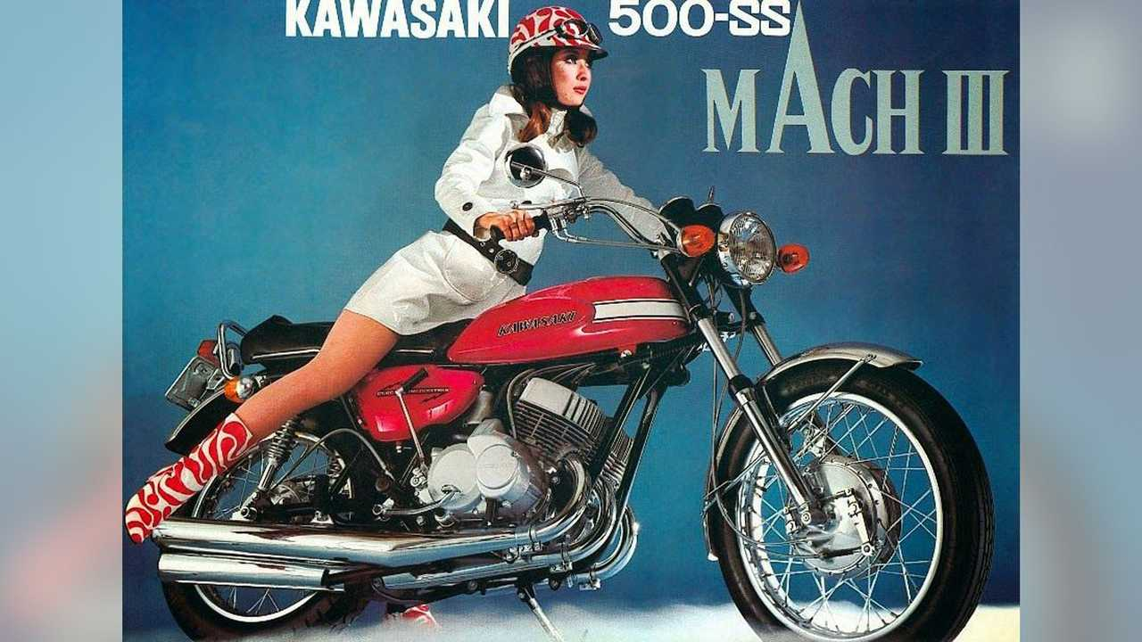 Kawasaki's Two-Stroke Triples