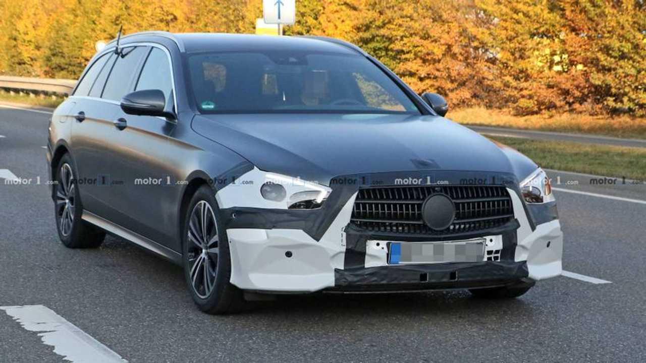 Mercedes E-Klasse (2020) als Erlkönig