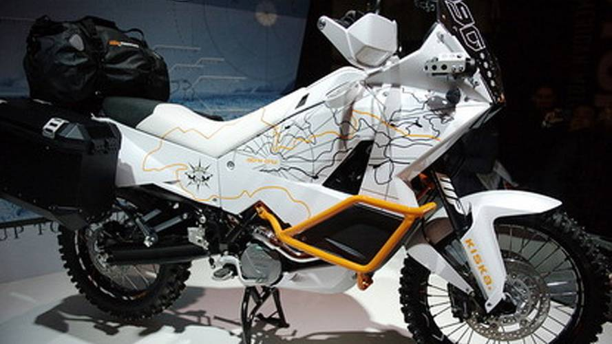 KTM 990 Adventure ready for North Pole