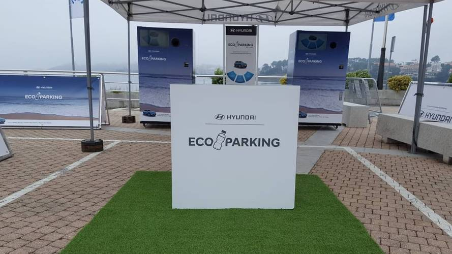 Eco Parking de Hyundai, un estacionamiento 'limpio'