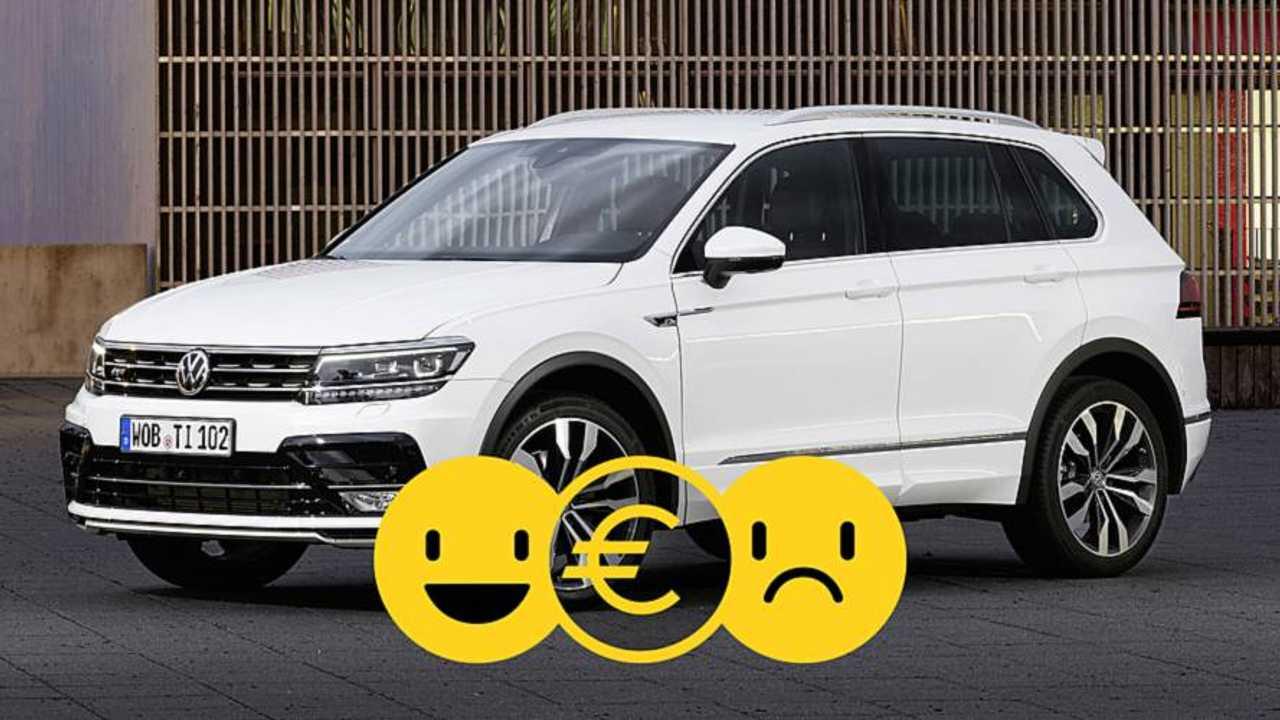 Volkswagen Tiguan, la promozione