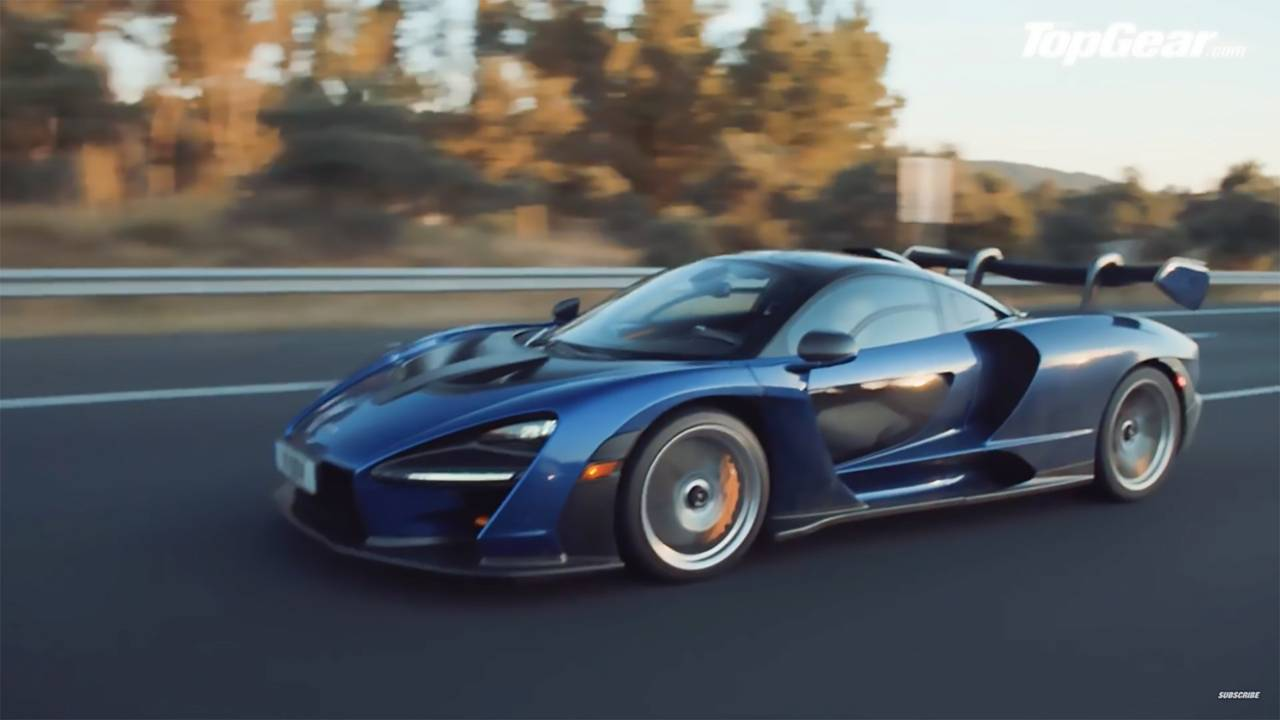 Top Gear Road Trip McLaren Senna