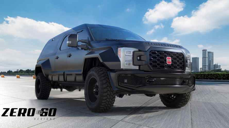 Zero To 60 Designs Debuting Sinister Ford F-350 Nighthawk At SEMA