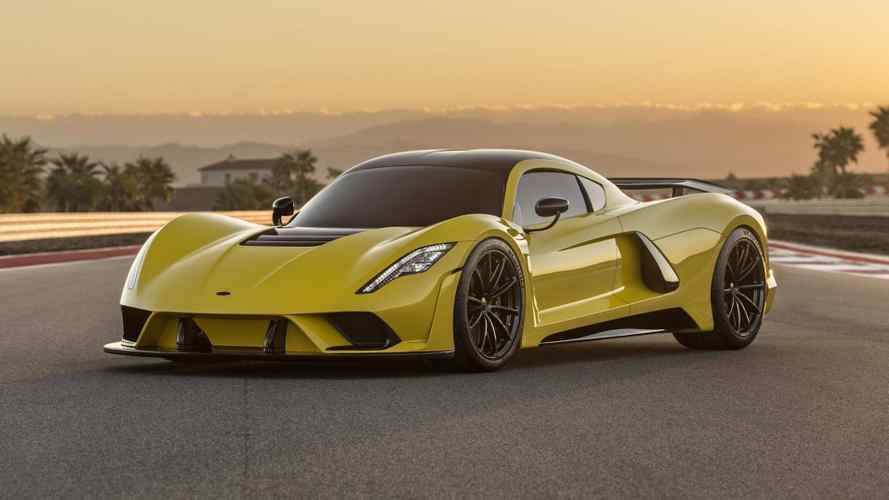 300-mph Hennessey Venom F5 production model arriving in 2020