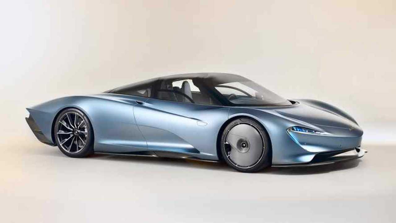 McLaren Speedtail Lead