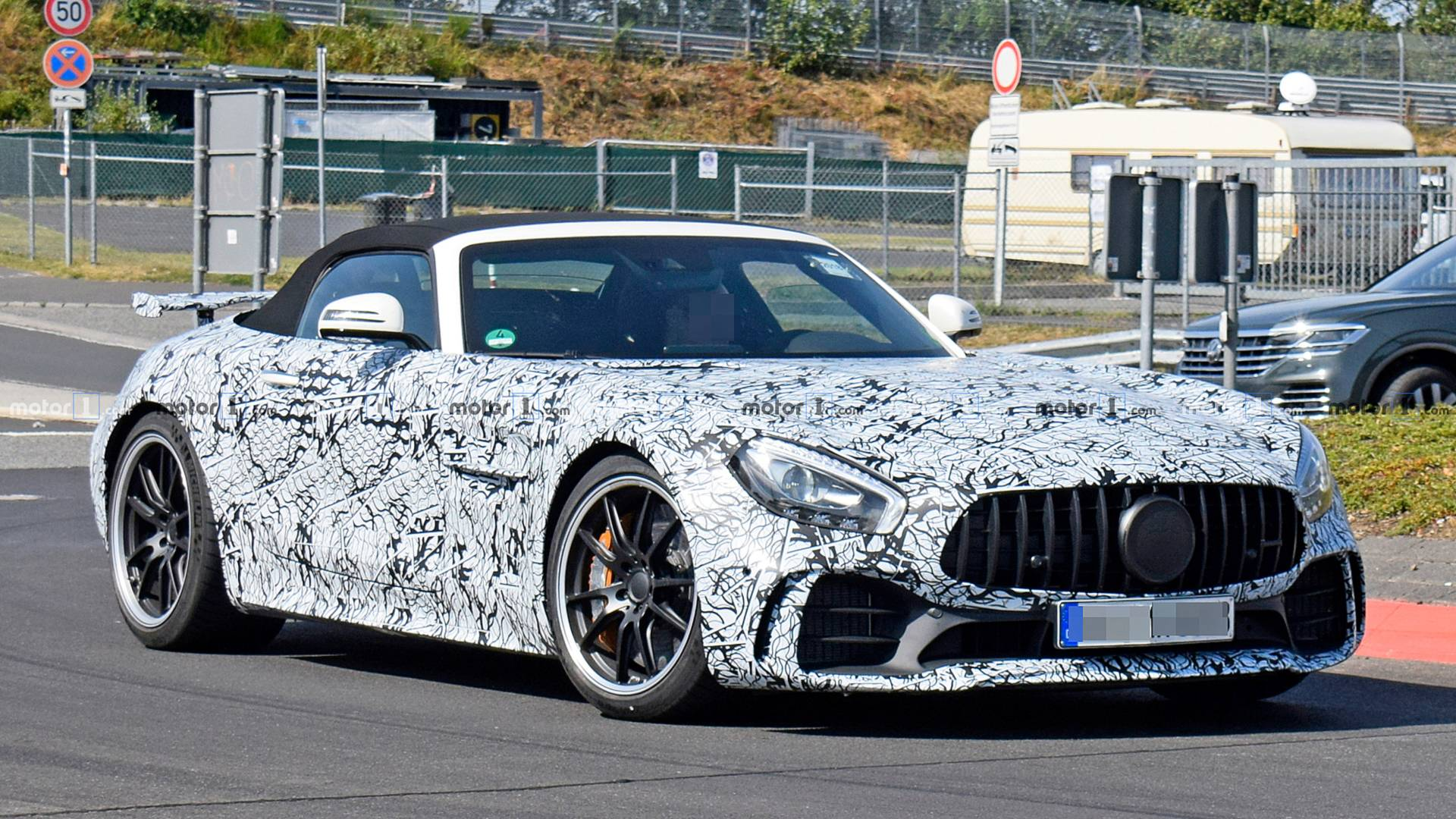 First Spy Photos Of The Mercedes Amg Gt R Roadster Emerge Update
