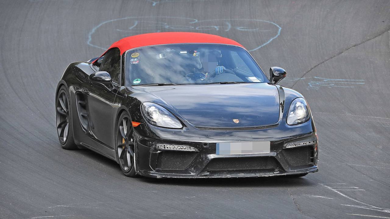 2019 Porsche 718 Boxster Spyder Prototyp