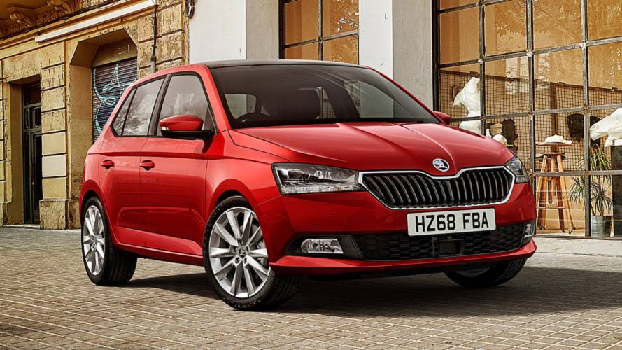 Facelifted Skoda Fabia cuts a dash from £12,840