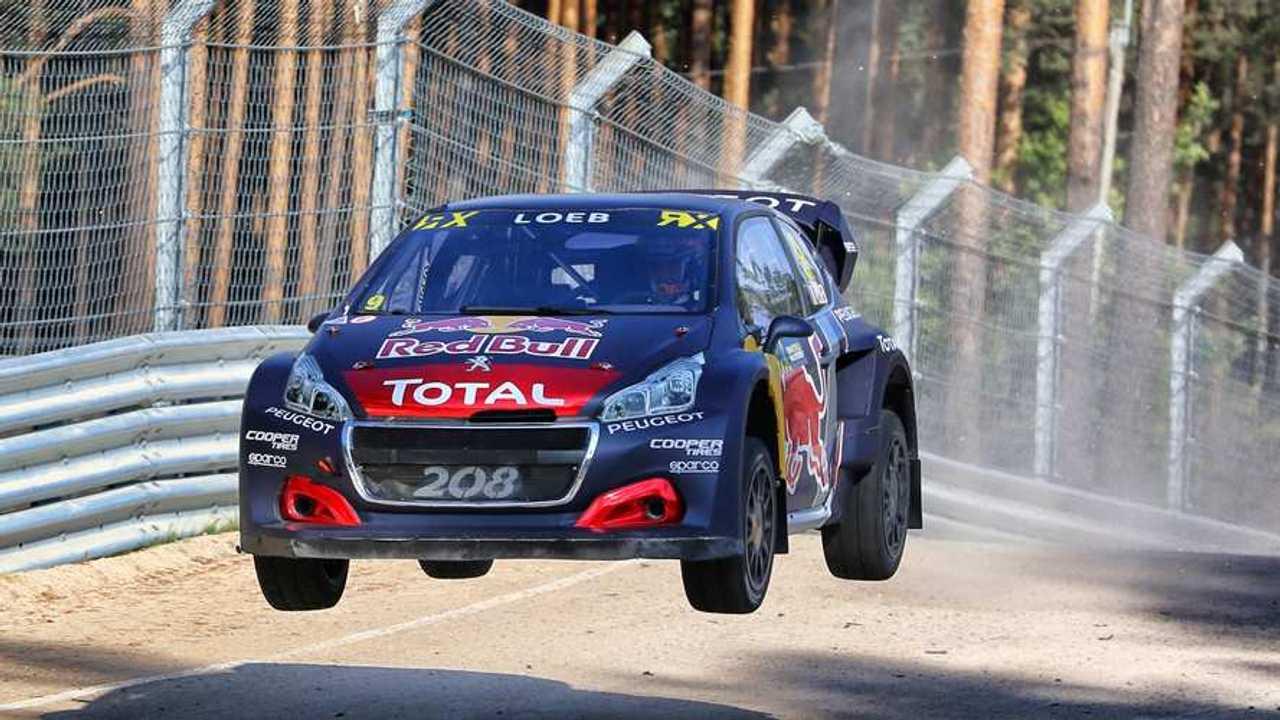 Team Peugeot Total WRX