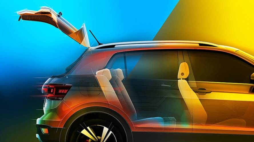 VW T-Cross Rear Cargo Teaser
