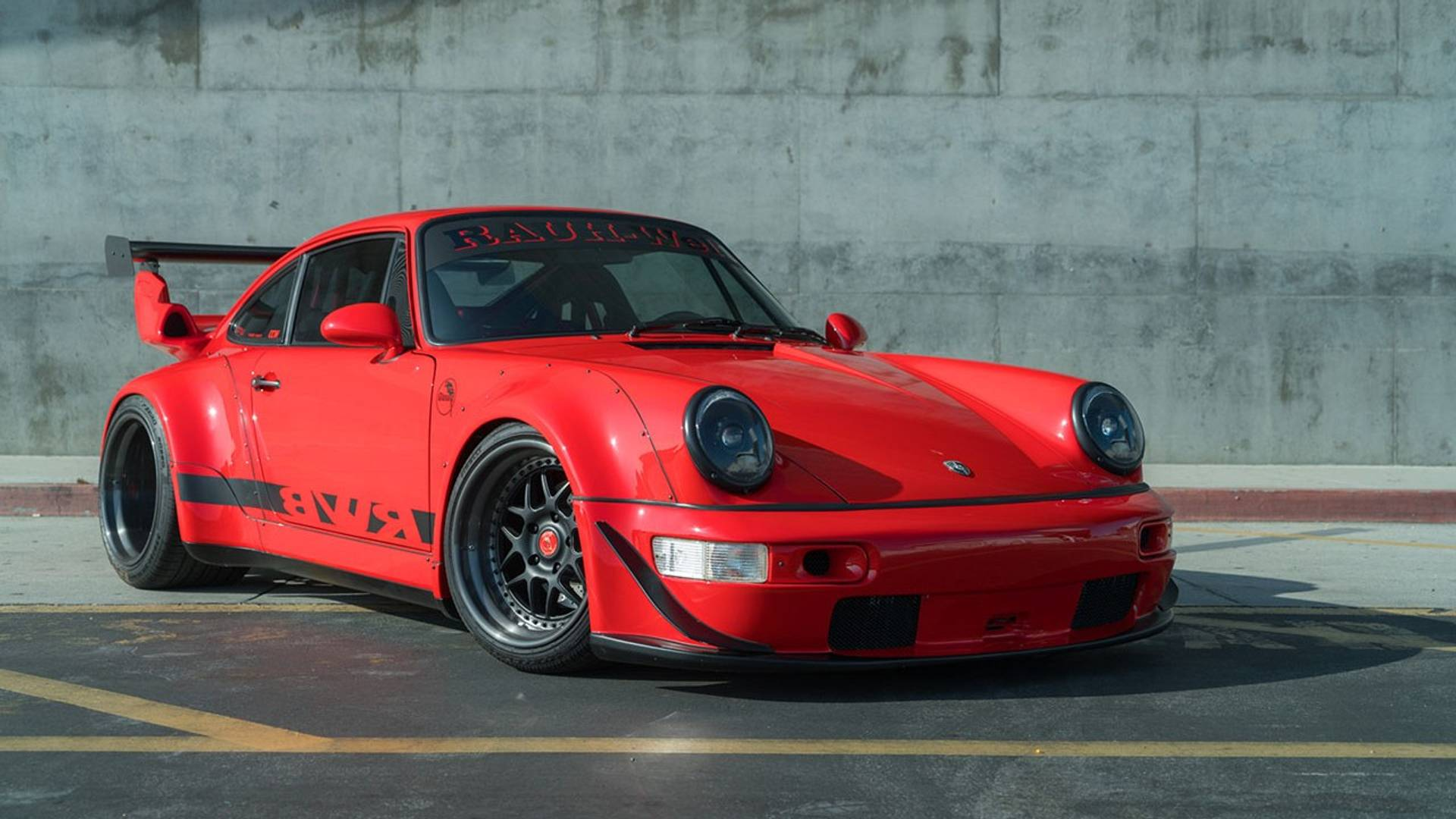 Rwb Modified Porsche 911 Is Former Sema Star Now Up For Sale