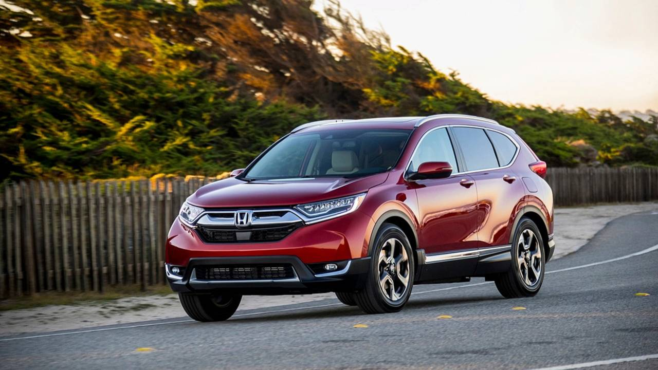 Small SUV: Honda CR-V