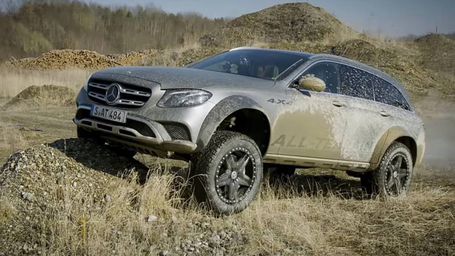 Mercedes E-Class All-Terrain 4x4² shows off