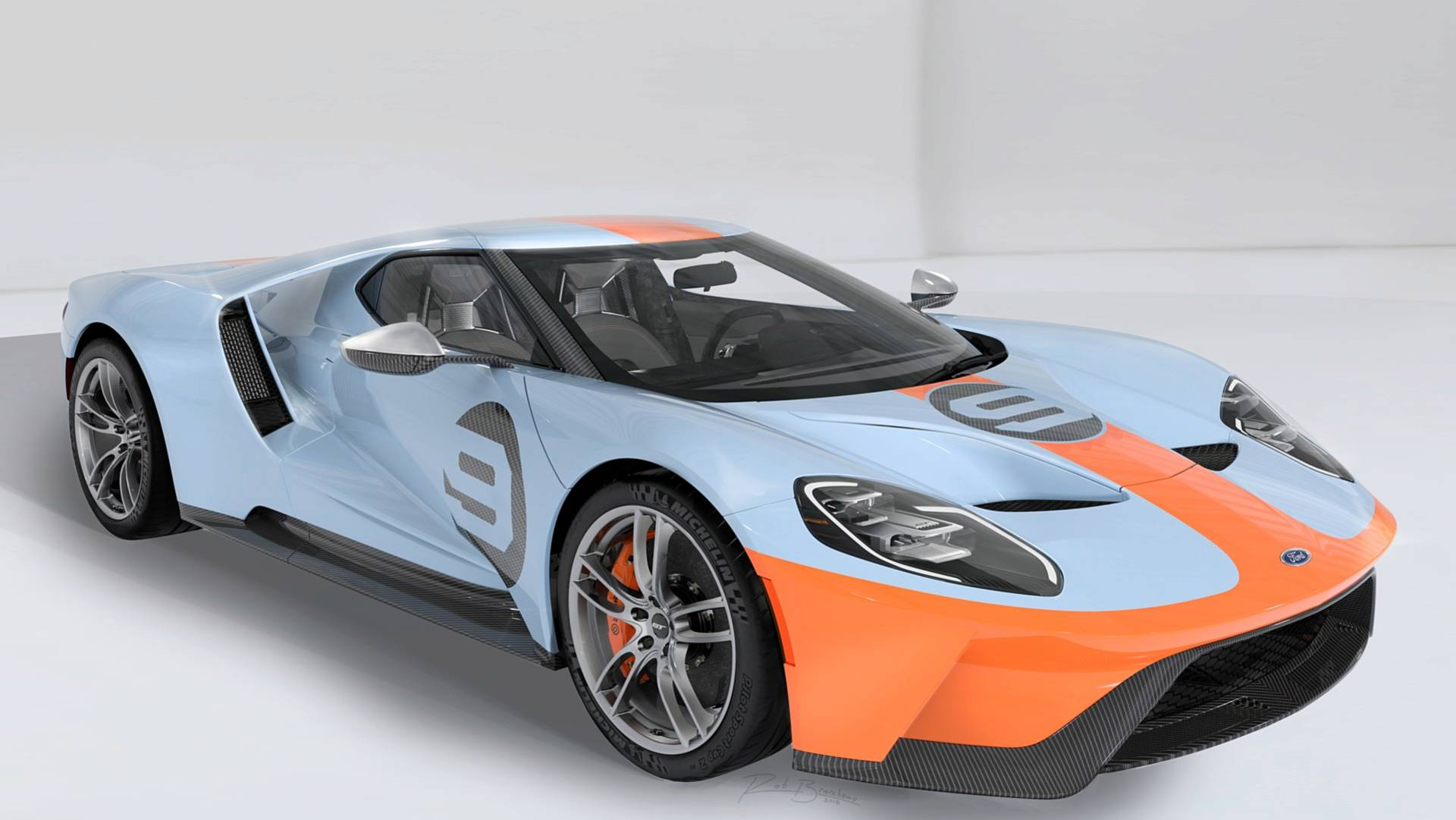 Buy First Gulf-Liveried Ford GT And It Benefits Charity