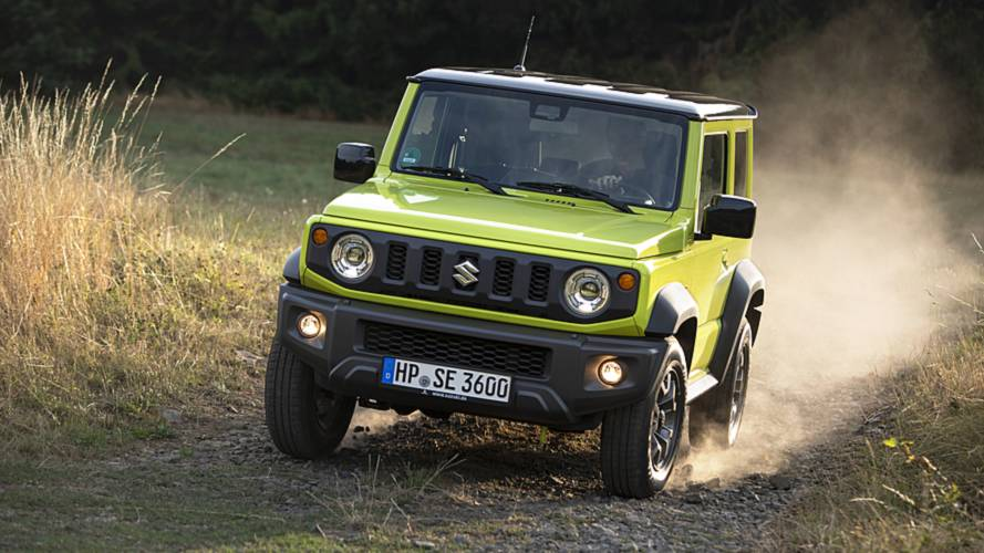 Suzuki Can't Keep Up With Demand For New Jimny